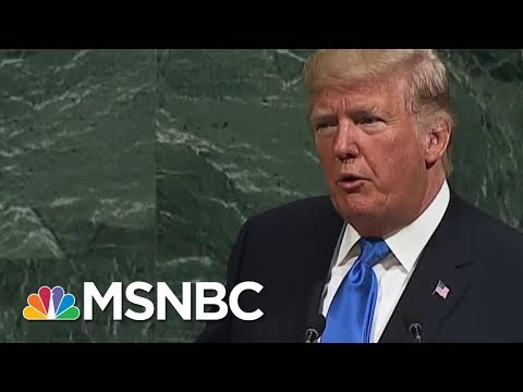 Minus Bombast, President Donald Trump UN Speech Proves Conventional | Morning Joe | MSNBC