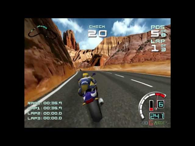 Suzuki Alstare Extreme Racing - Gameplay Dreamcast HD 720P