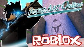 *INSANE* Sword Art Online IN ROBLOX!? (SwordBurst 2)