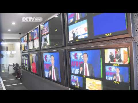 Chinese Premier Visits CCTV Africa