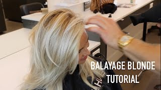 BALAYAGE BLONDE TUTORIAL thumbnail
