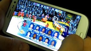 NBA 2K13 On Android Gameplay Samsung Galaxy S3 2K Games
