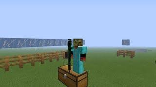 MineCraft {1.5.2} [Обзор Модов] №57 - 3D Gun
