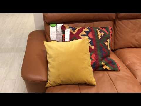 ИКЕА диваны с кожаной обивкой / кожзам/комбинированная кожа