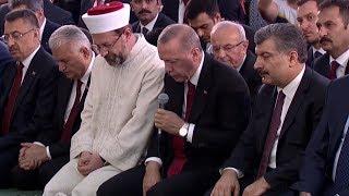 Cumhurbaşkanı Recep Tayyip Erdoğan 15 Temmuz Şehitleri İçin Kuran Okudu