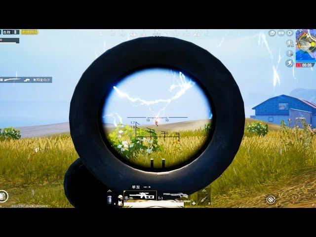 狙击手麦克:挑战只用9毫米武器吃鸡,威力再小,也能砸死敌人!