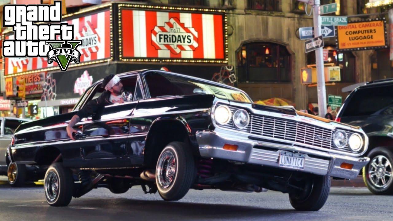 Gta 5 12 Autos Lowrider Dlc Todos Los Autos Youtube