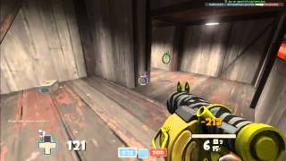 Team Fortress 2- Demoman on Koth_Badlands + Some Scout Action