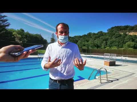 Reapertura de las piscinas de Infiesto