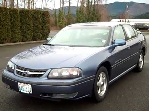SOLD 2000 Chevrolet Impala LS - 29175I - YouTube