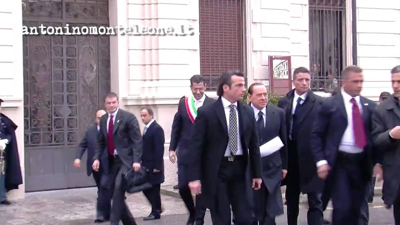 Consiglio dei Ministri a Reggio Calabria - L'arrivo di ...