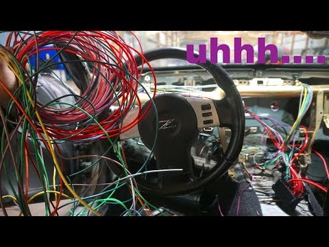 ATTEMPTING TO WIRE A 350Z FROM SCRATCH!!
