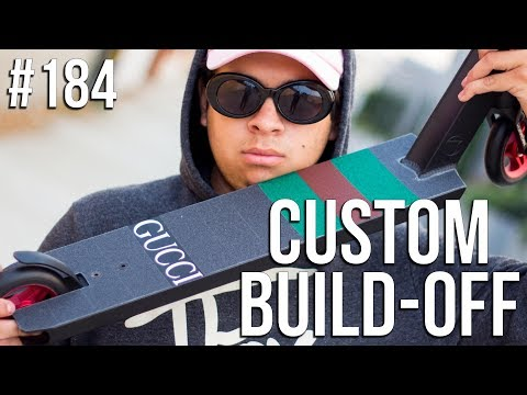 Custom Build Off 4 - Part 1 (ft. Walter) │ The Vault Pro Scooters