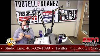 Tootell & Nuanez 102.9 ESPN Missoula Live Stream