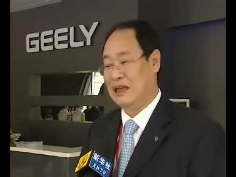 Chinese carmakers in Shanghai Auto Expo