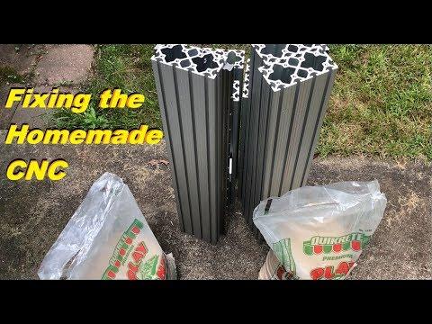 Construction De Ma Machine Cnc Pour Usiner Laluminium