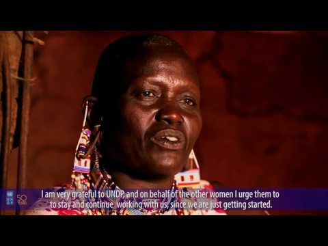 UNDP working with communities in Kenya for Sustainable Development
