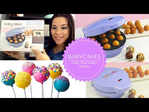 Babycakes - Cake Pop Maker Review