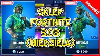 Fortnite Shop 3.03 (Sunday)-NEW SKIN intuition, reflexes, Wyginek, Przekrętka, llama Bell