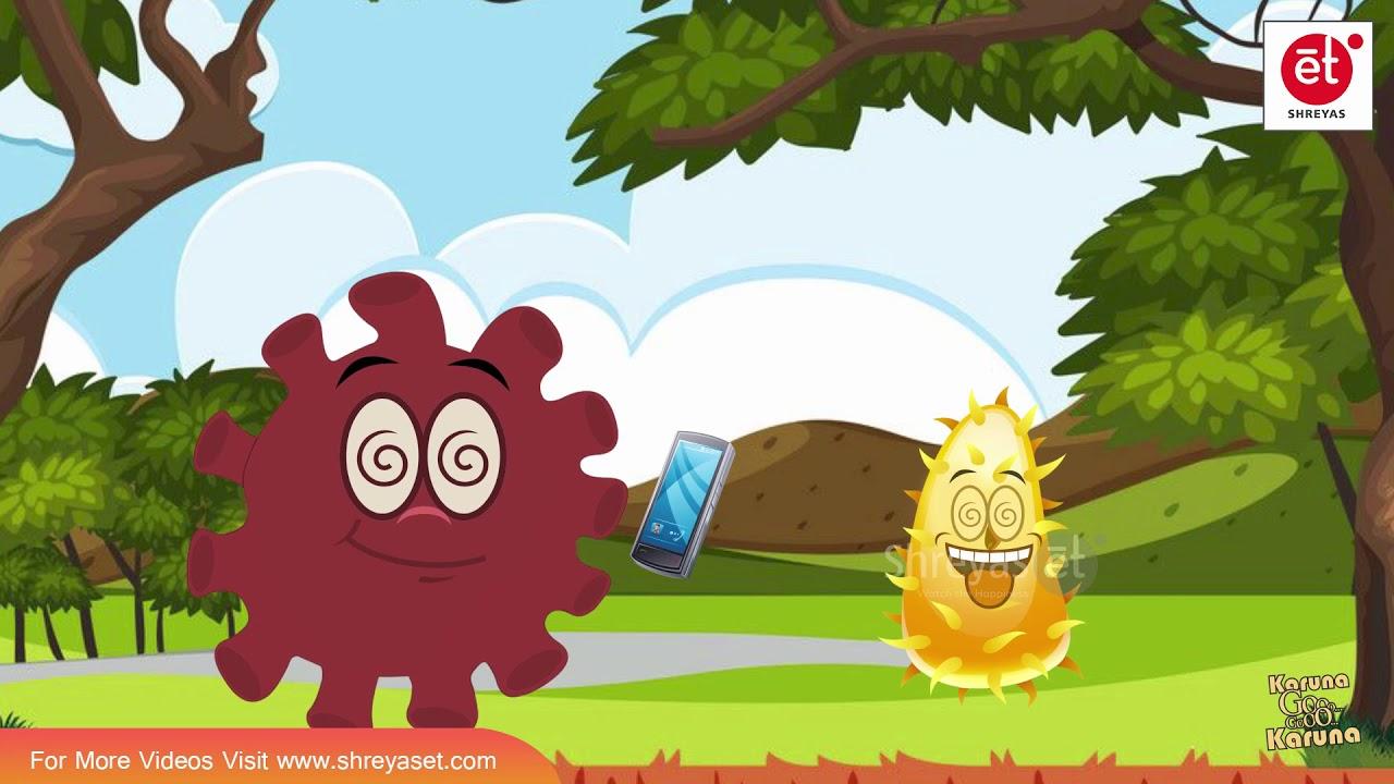 Karuna wants to play PUBG with MODI | Corona Virus Funny Cartoons | Karuna Go EP-08 | ShreyasET
