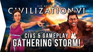 Civilization VI: Gathering Storm ► New Civs, Features & Gameplay in Civ 6 - [Gamer Encounters]