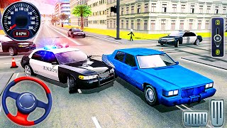 US Police Car Chase Driver Simulator - Crime Transport Prisoner Driving - Android GamePlay #2 screenshot 3