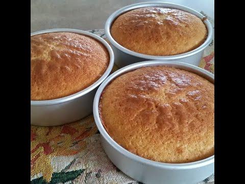 VANILLA  CAKE RECIPE.