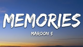 Cover images Maroon 5 - Memories (Lyrics)