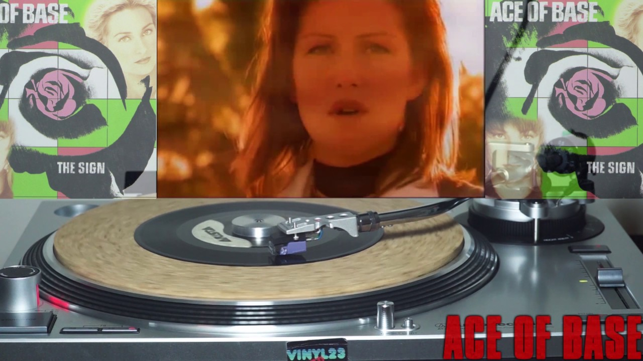 Ace of base VINYL Don't Turn Around - All that she wants HD