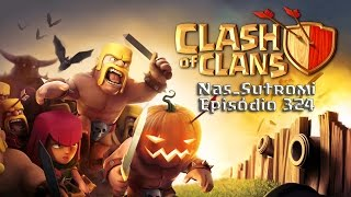 Clash of Clans Eps 324 dia 323 - Alguns fails e novo layout