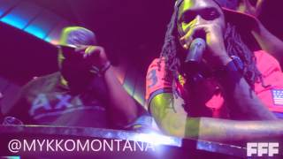 Mykko Montana DO IT - ft K Camp @ Universal Records Signing Party (Live @ #TonguenGroove)
