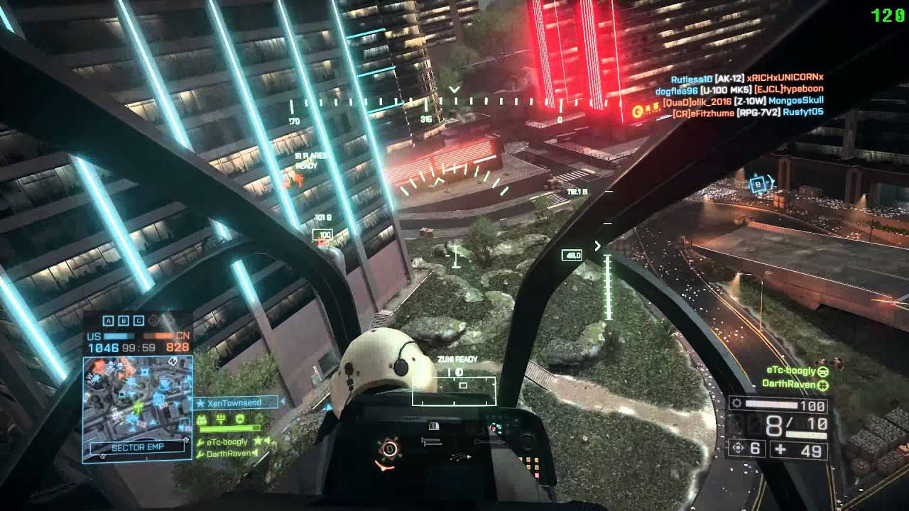 Battlefield 4 ultra settings 60 fps webcam