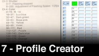 ADJ WiFly NE1 Tutorial 7   Build A Custom Fixture Profile
