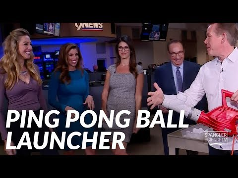 Ultimate Ping Pong Ball Launcher - Cool Science