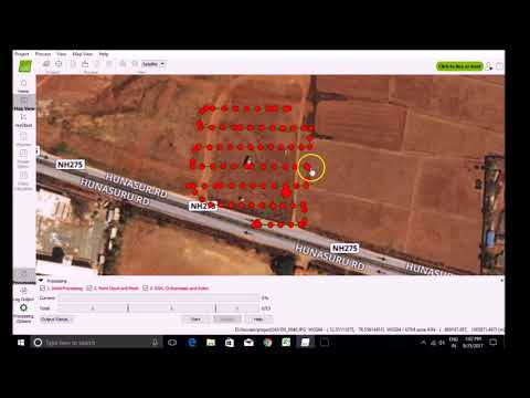 The Ultimate Guide for Land Surveying with Drones (Processing workflow with GCPs 1)