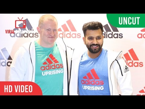 UNCUT - Adidas Group India | Opening of the HomeCourt Store In Mumbai | Rohit Sharma And Dave Thomas