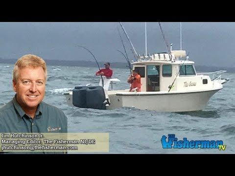 November 9, 2017 New Jersey/Delaware Bay Fishing Report with Jim Hutchinson, Jr