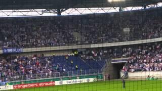 MSV DUISBURG gegen Schalke DFB POKAL 8.8.15