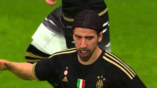 Pes 16 Juventus Fc vs Real Madrid Superstar Gameplay PC