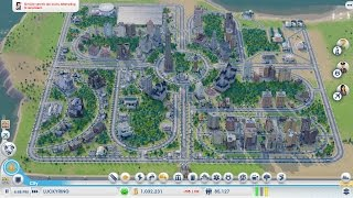 simcity 11 best way to start a city timelapse