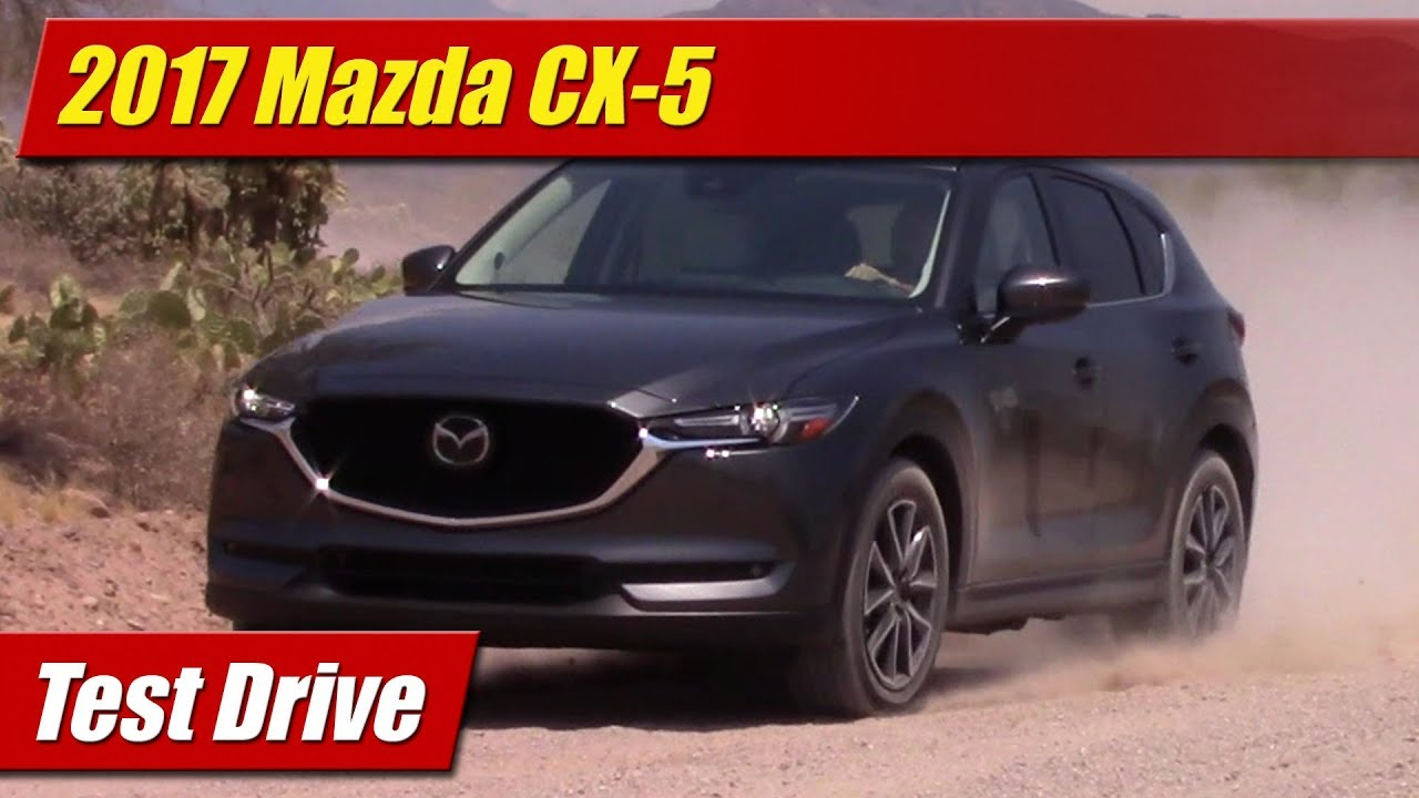 2017 mazda cx 5 grand touring test drive youtube. Black Bedroom Furniture Sets. Home Design Ideas