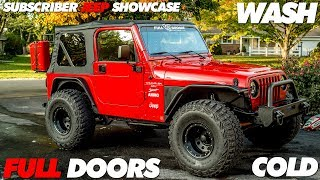 Putting Full Doors back on My Jeep