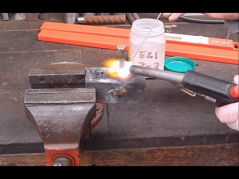 How To Do Simple Bronze Brazing In The Workshop
