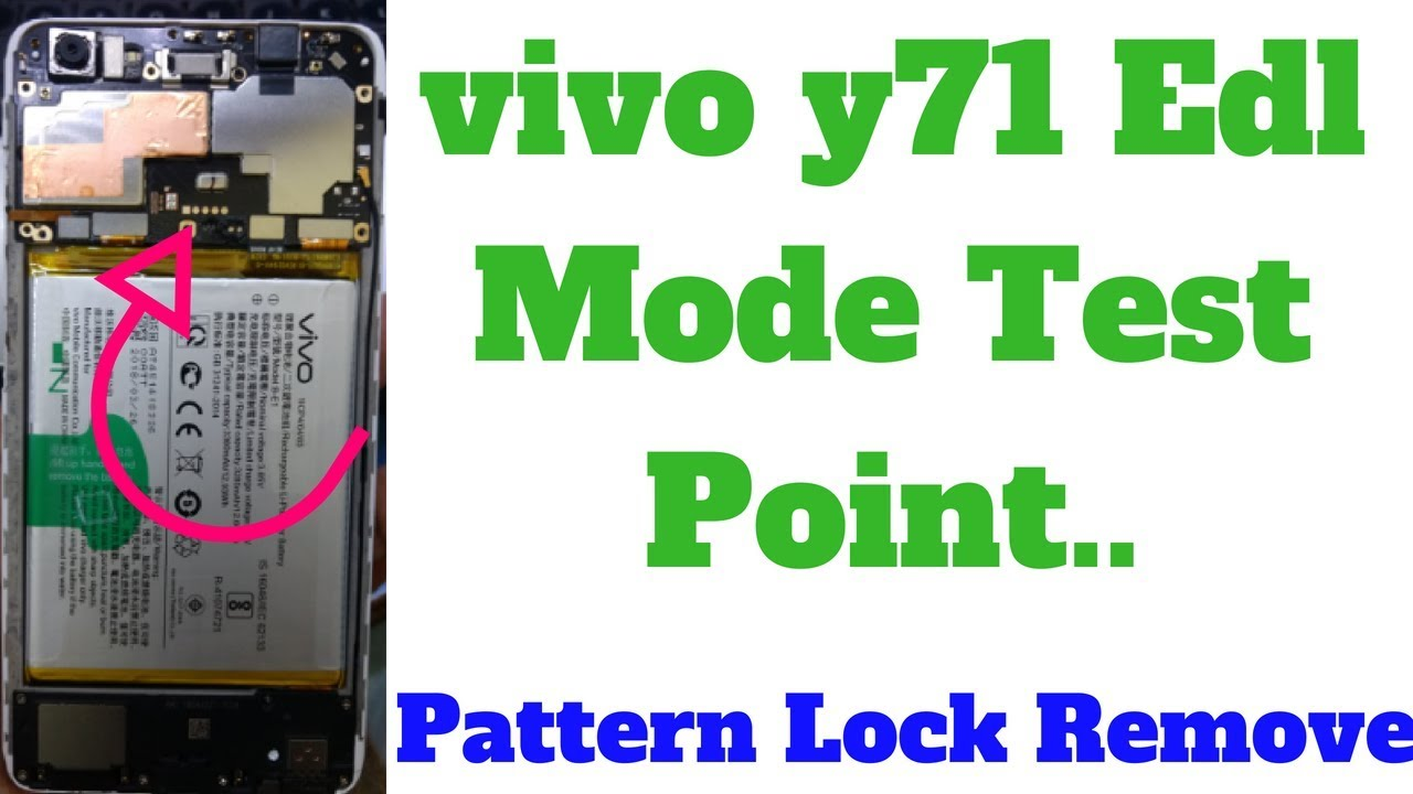 vivo y71 Edl Mode Test Point