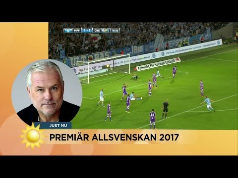 """Glenn Hysén: till sonen Tobias inför allsvenskapremiären """"Leverera ungjävel"""" - Nyhetsmorgon (TV4)"""
