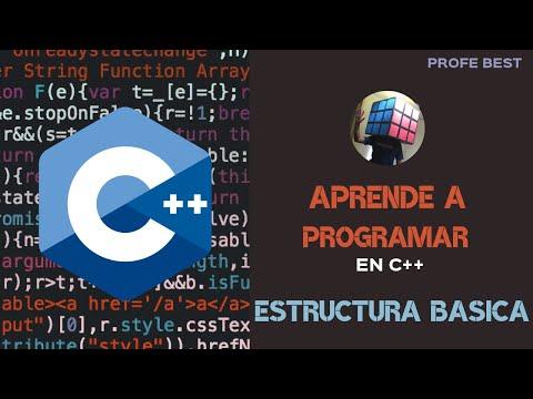 Aprende A Programar Estructura Basica De Un Programa