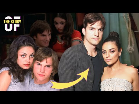 The Story Of Ashton Kutcher & Mila Kunis: From That 70s Show to Husband & Wife
