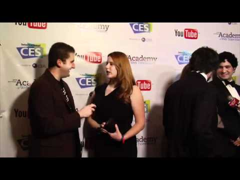 2012 IAWTV Awards Blue Carpet Interview: Jessica Mills of Awkward Embraces