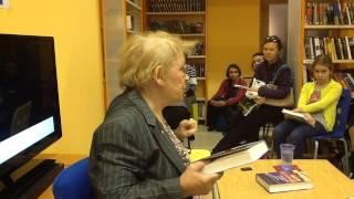 Мариэтта Чудакова. Встреча в РГДБ, 1 ноября 2014