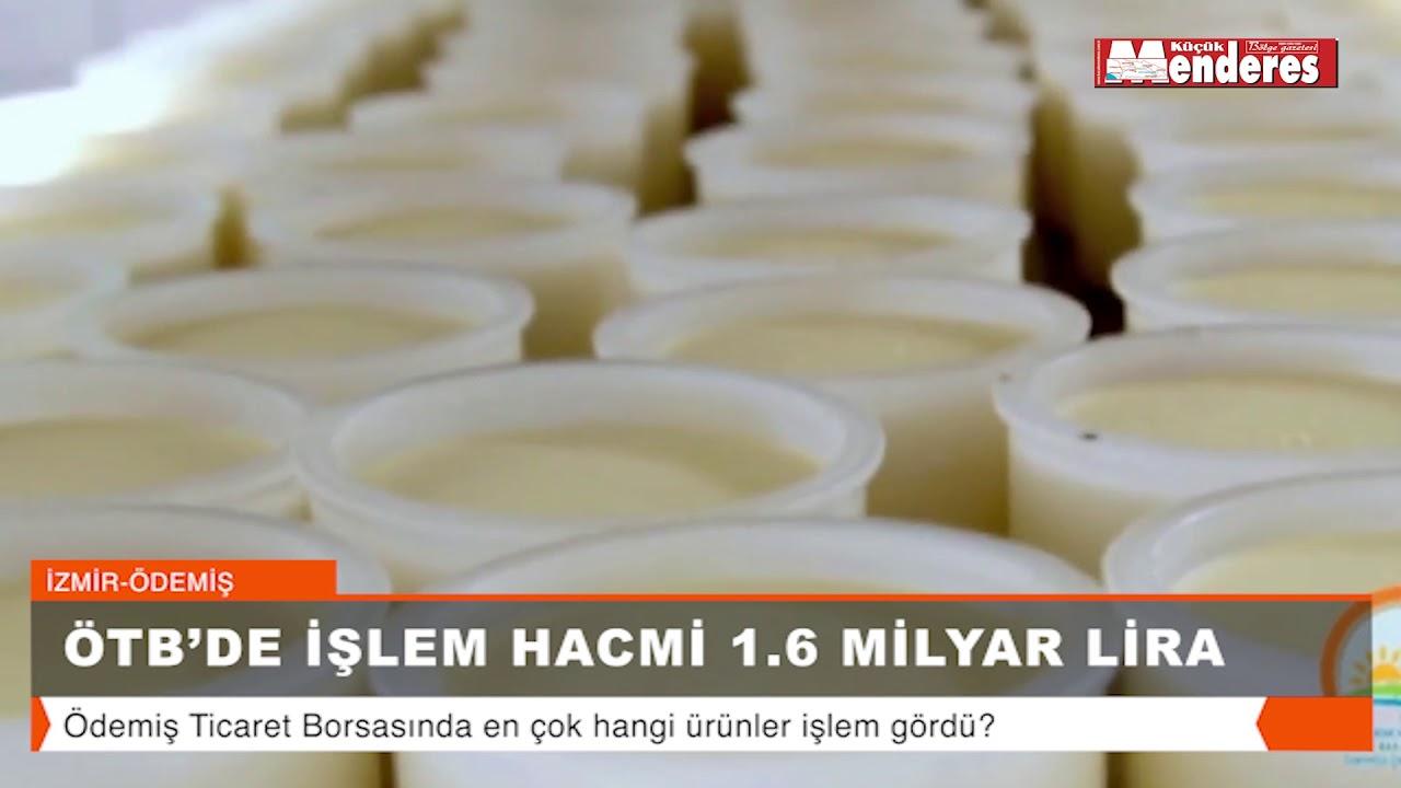 ÖTB'DE İŞLEM HAZMİ 1.6 MİLYAR LİRA